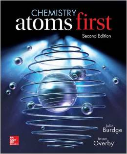 Test Bank for Chemistry Atoms First 2nd Edition Julia Burdge Download