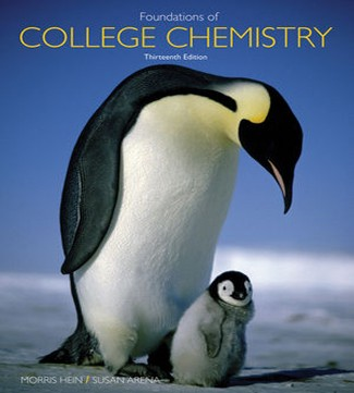 Foundations of College Chemistry 13th Edition Hein Arena Test Bank