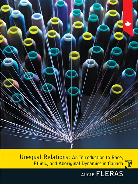 Test Bank for Unequal Relations: An Introduction to Race, Ethnic, and Aboriginal Dynamics in Canada, 7/E 7th Edition Augie Fleras