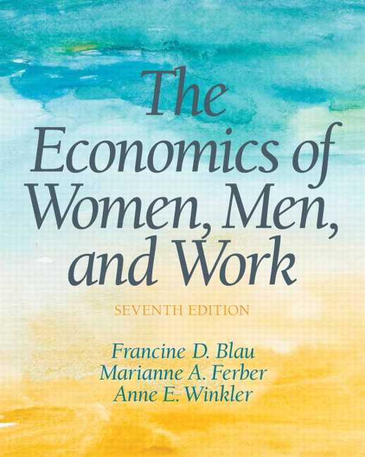 Solution Manual for Economics of Women, Men and Work, The, 7/E 7th Edition Francine D Blau, Anne E Winkler, Marianne A Ferber