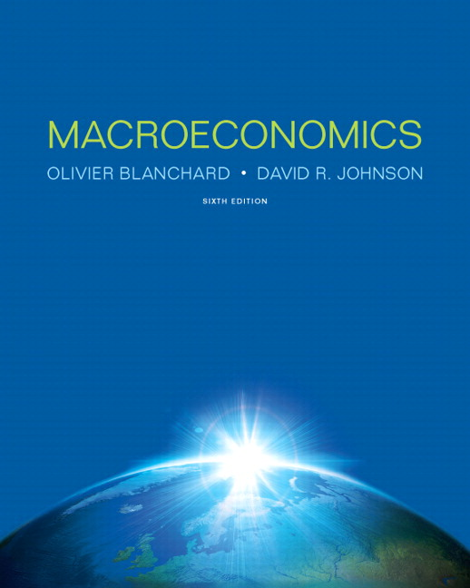 Test Bank for Macroeconomics 6th Edition by Blanchard