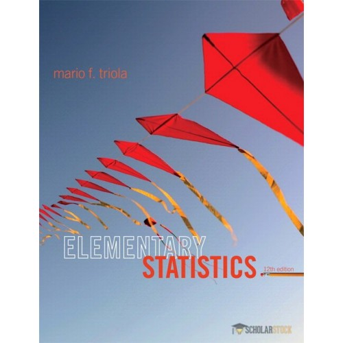 Test Bank for Elementary Statistics, 12/E 12th Edition : 032189023X