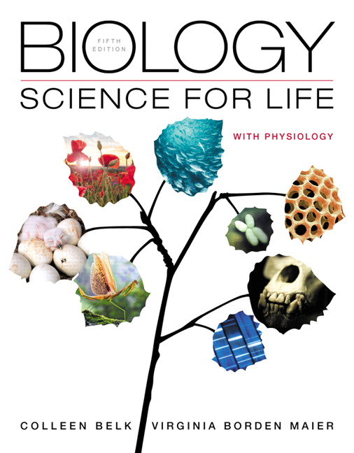 Test Bank for Biology: Science for Life with Physiology, 5/E Colleen M. Belk, Virginia Borden Maier