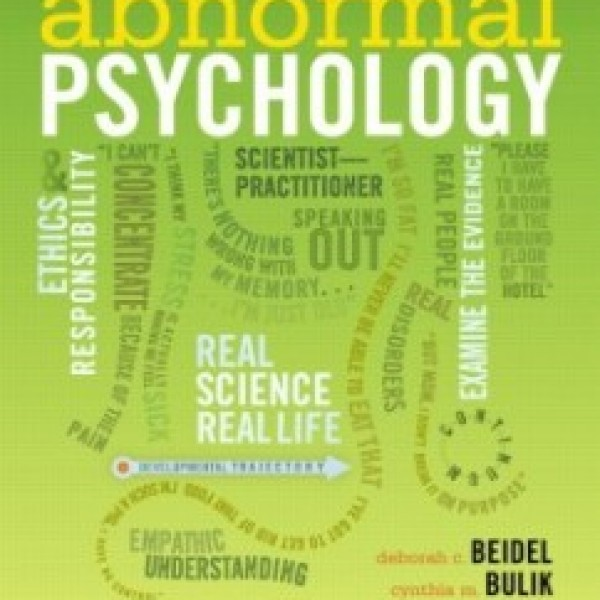 Test Bank for Abnormal Psychology 2/E by Beidel