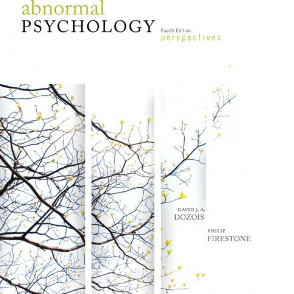 Solution manual for Abnormal Psychology Perspectives 4/E by Dozois