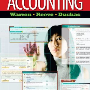 Accounting 24th Edition By Warren, Reeve, Duchac - Solution Manual