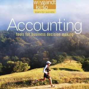 Accounting 3rd Edition By Kimmel, Weygandt, Kieso - Test Bank