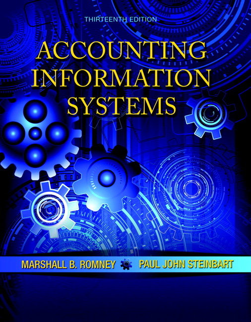 Accounting Information Systems 13th Edition By Romney, Steinbart - Solution Manual