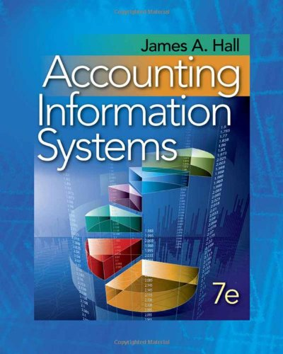 Accounting Information Systems 7th Edition By James Hall - Solution Manual