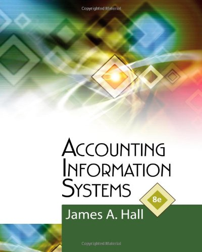 Accounting Information Systems 8th Edition By Hall - Solution Manual