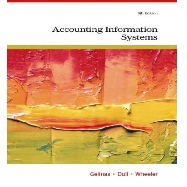 Test Bank for Accounting Information Systems 9/E by Gelinas