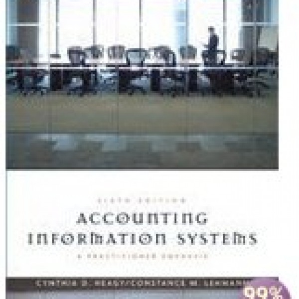 Solution Manual for Accounting Information Systems A Practitioner Emphasis 6/E by Heagy