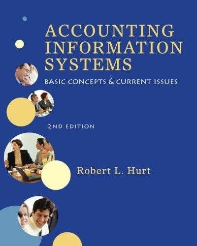 Accounting Information Systems Basic Concepts and Current Issues 2nd Edition By Hurt - Solution Manual