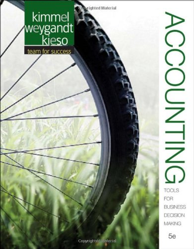 Accounting Tools for Business Decision Making 5th Edition By Kimmel, Weygandt, Kieso - Solution Manual