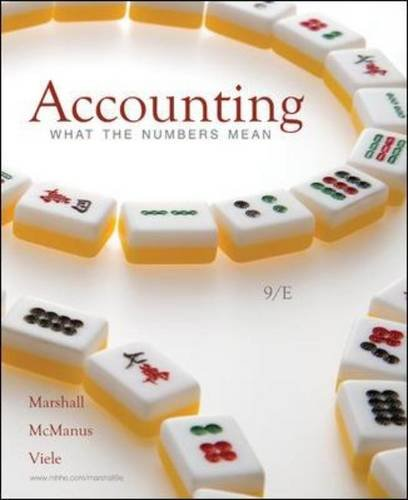 Accounting What Number Mean 9th Edition By Marshall, McManus, Viele - Test Bank