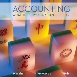 Accounting What the Numbers Mean 10th Edition By Marshall, McManus, Viele - Solution Manual