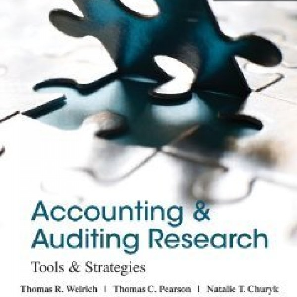 Solution Manual for Accounting And Auditing Research Tools And Strategies 8/E by Weirich