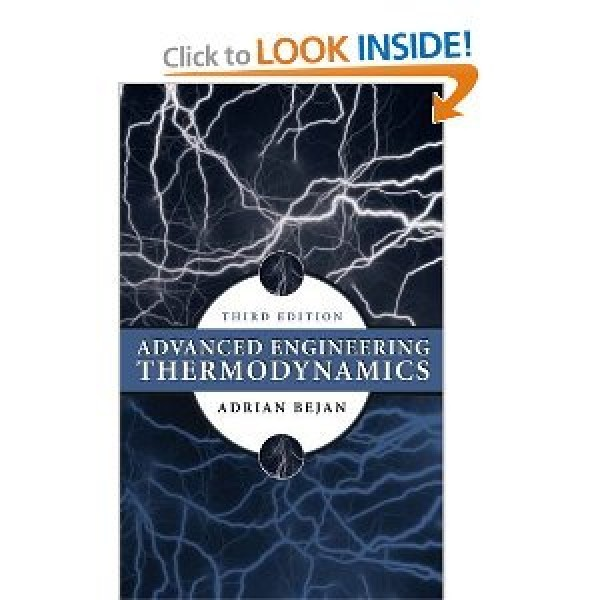 Solution Manual for Advanced Engineering Thermodynamics 3/E by Bejan