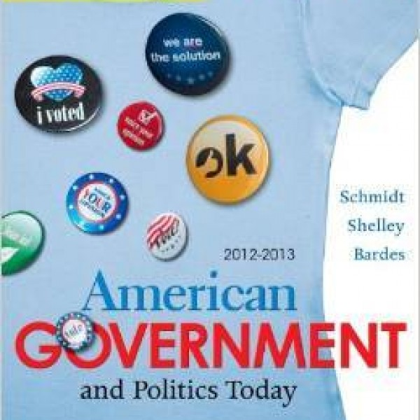 Test bank for Cengage Advantage Books: American Government And Politics Today 7/E Brief Edition by Schmidt