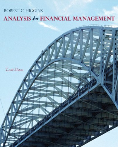 Analysis for Financial Management 10th Edition By Higgins - Test Bank