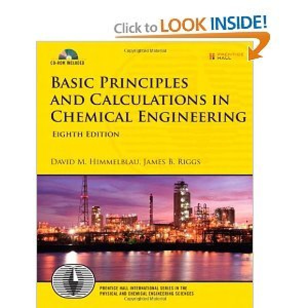 Solution Manual for Basic Principles And Calculations In Chemical Engineering 8/E by Himmelblau