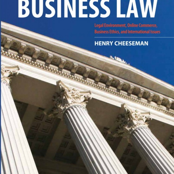 Test Bank for Business Law 8/E by Cheeseman