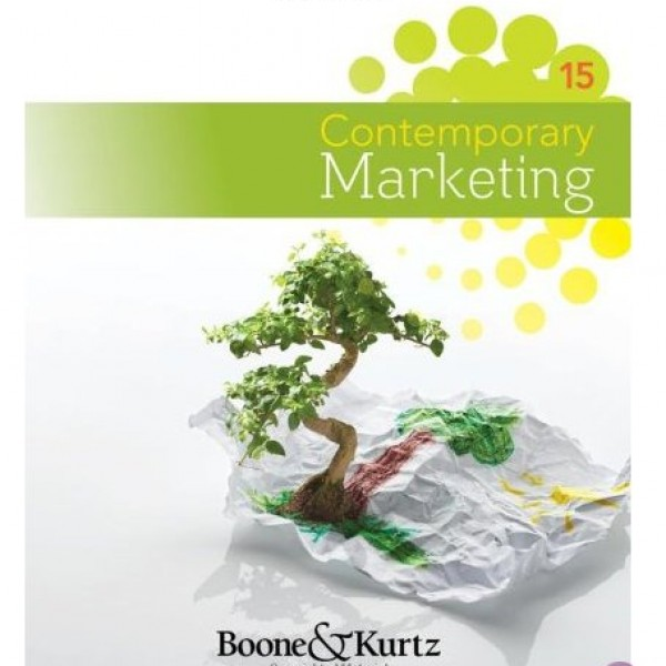Test Bank for Contemporary Marketing 15/E by Boone