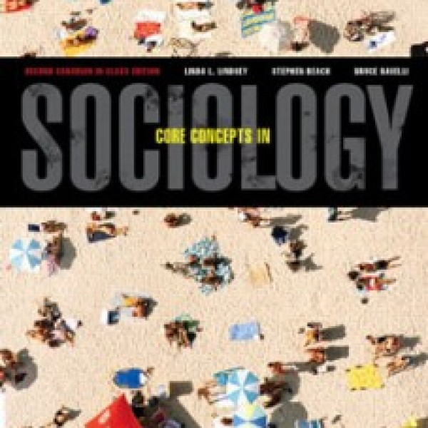 Test Bank for Core Concepts In Sociology 2/E Canadian by Lindsey