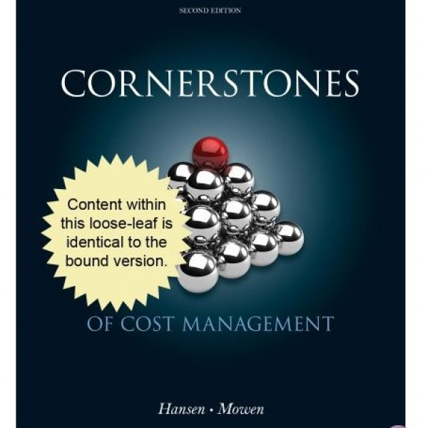 Solution Manual for Cornerstones Of Cost Accounting 2/E by Hansen