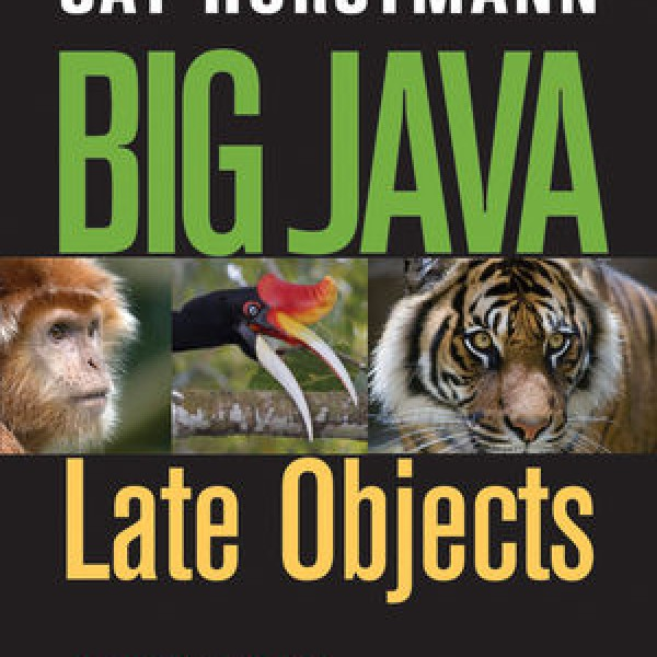 Complete Test bank for Big Java: Late Objects by Denise L. Lazo 9781118838822