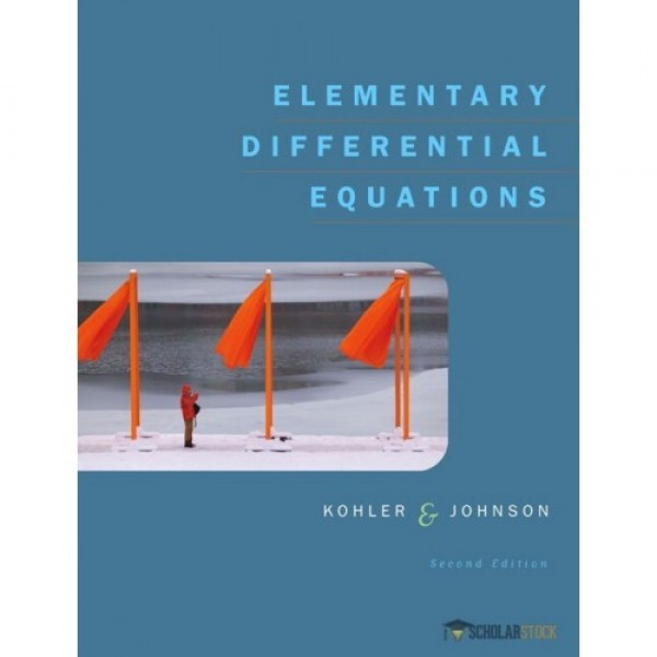 Solution Manual for Elementary Differential Equations Bound With Ide Cd Package 2/E by Kohler