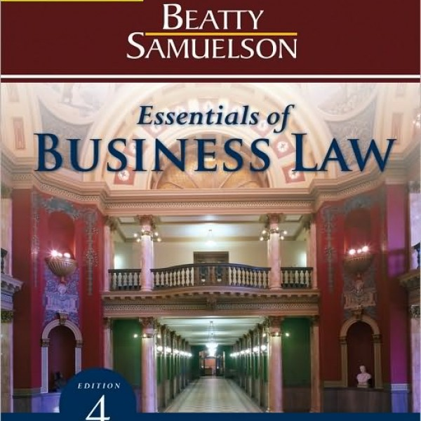 Test Bank for Essentials Of Business Law 4/E by Beatty