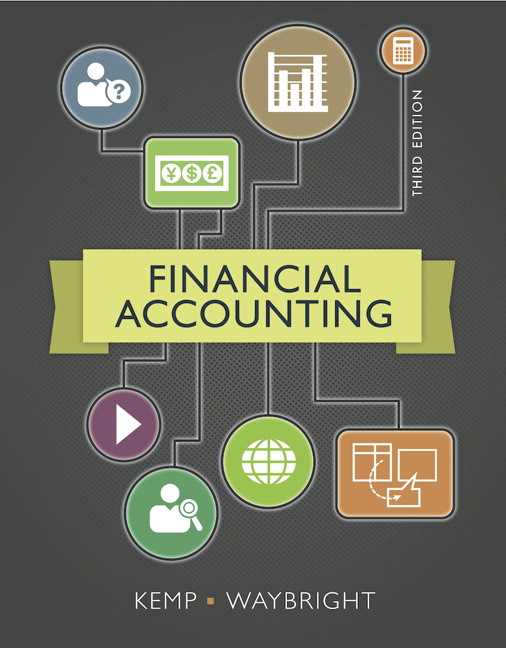 Financial Accounting 3rd Edition By Kemp, Waybright - Solution Manual