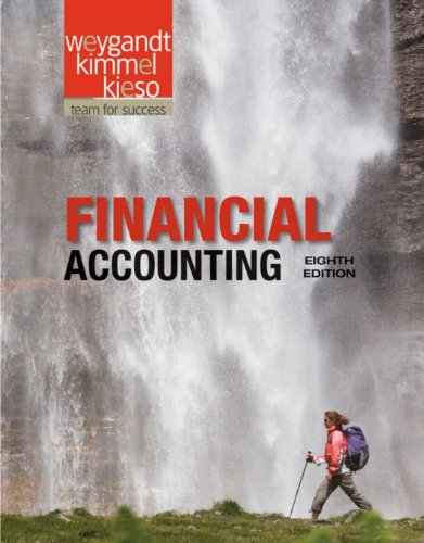 Financial Accounting 8th Edition By Weygandt, Kieso, Kimmel - Solution Manual
