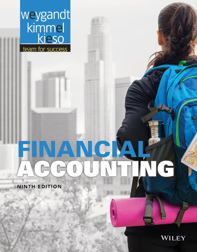 Financial Accounting 9th Edition By Weygandt, Kieso, Kimmel - Solution Manual