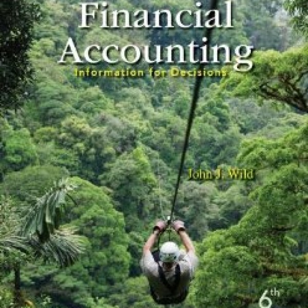 Solution Manual for Financial Accounting Information For Decisions 6/E by Wild