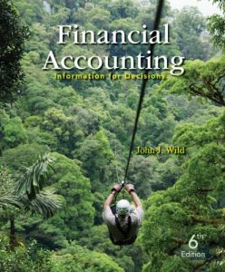 Financial Accounting Information for Decisions 6th Edition By Wild - Solution Manual