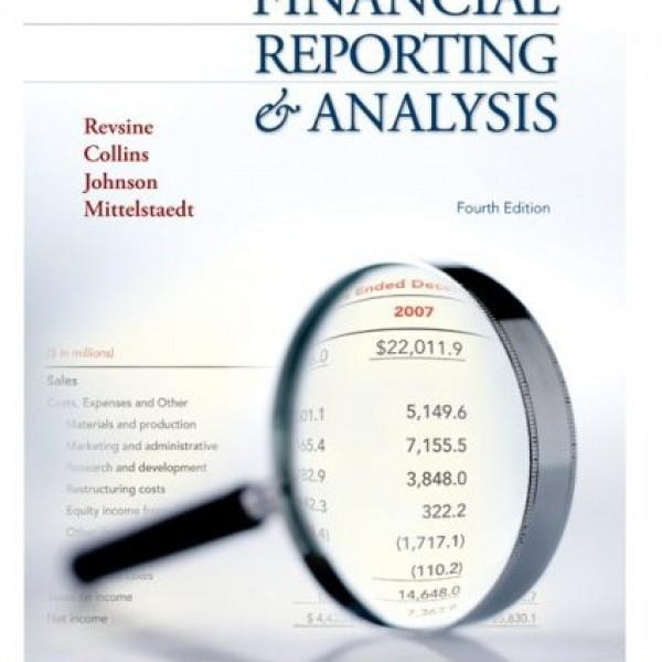 Solution Manual for Financial Reporting And Analysis 4/E by Revsine