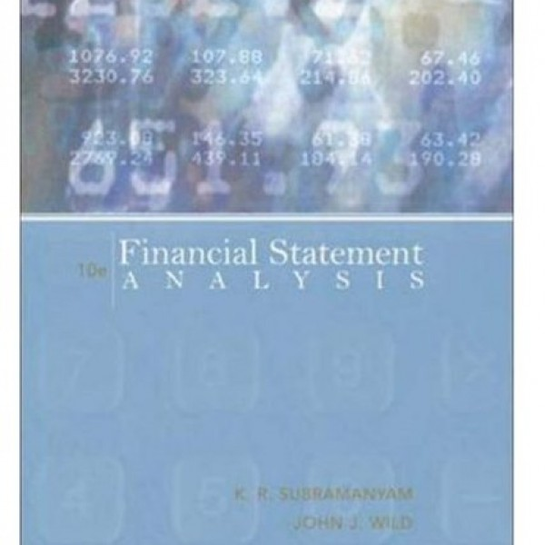 Solution Manual for Financial Statement Analysis 10/E by Subramanyam