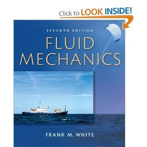 Solution Manual for Fluid Mechanics 7/E by White