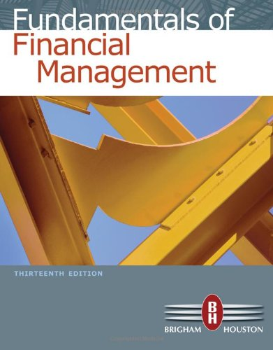 Fundamentals of Financial Management 13th Edition By Brigham, Houston - Solution Manual