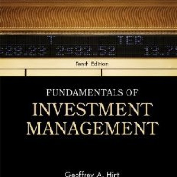 Solution Manual for Fundamentals Of Investment Management 10/E by Hirt
