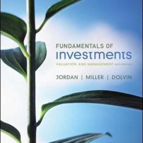 Solution Manual for Fundamentals Of Investments 7/E by Jordan