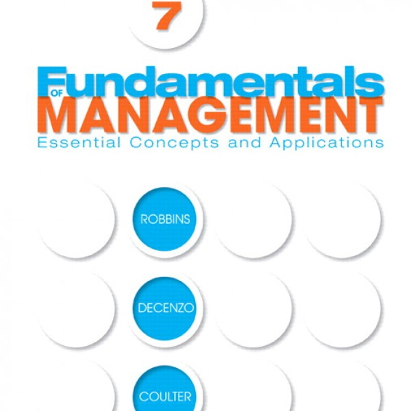 Test Bank for Fundamentals Of Management 7/E by Robbins