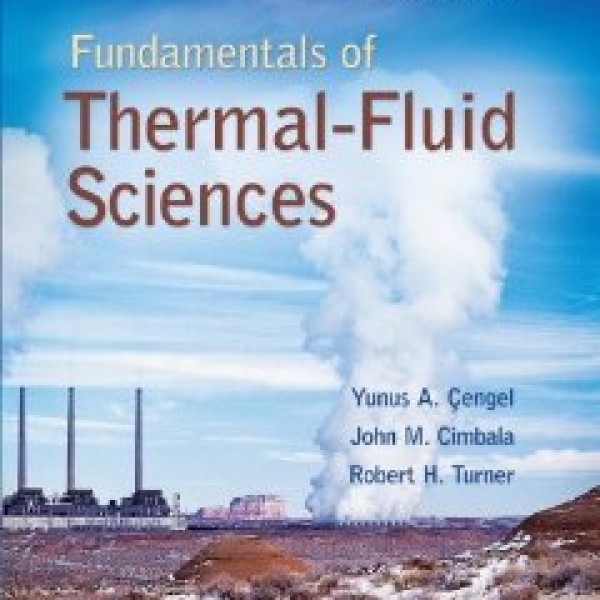 Solution Manual for Fundamentals Of Thermal-Fluid Sciences 4/E by Cengel
