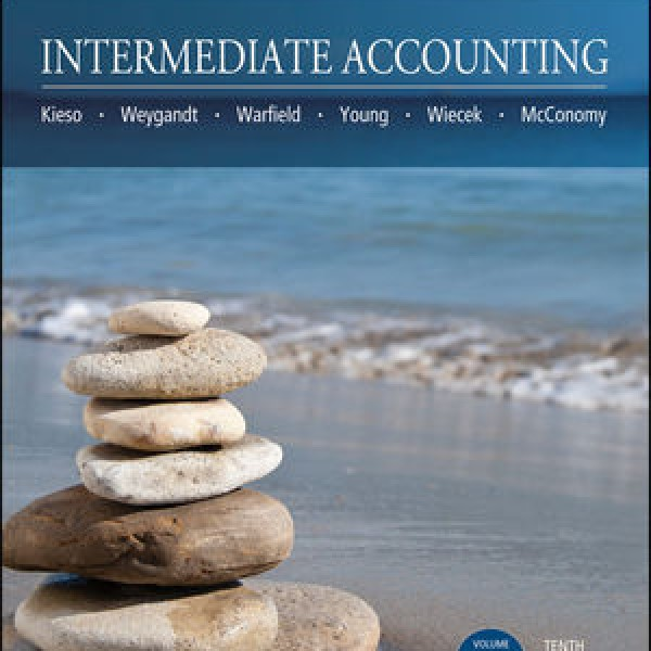 Solution Manual for Intermediate Accounting, Volume 1 10/E Canadian Edition by Kieso