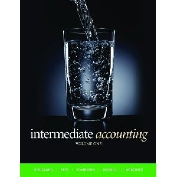 Solution Manual for Intermediate Accounting, Volume 1 2/E Canadian Edition by Spiceland
