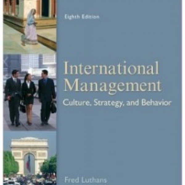 Test Bank for International Management 8/E by Luthans