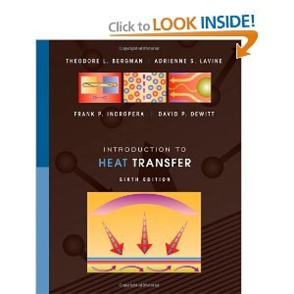 Solution Manual for Introduction To Heat Transfer 6/E by Bergman