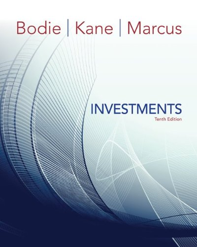Investments 10th Edition By Bodie, Kane, Marcus - Solution Manual
